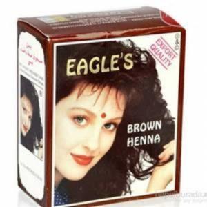 Eagles Hint Kınası Kahve 1 Kutu 6 Adet Brown (Kahverengi)
