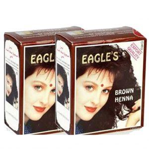Eagles Hint Kınası Kahve 2 Kutu 12 Adet Brown (Kahverengi)