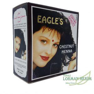 Eagles Koyu Kahve Kestane Hint Kınası Saç-Dövme İçin