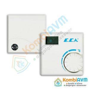 ECA ERT176 RF Kablosuz Oda Termostatı 2Yıl Garantili 7006907522 Hızlı Gönderim