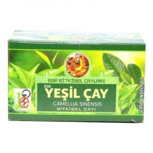 Ege Lokman Yeşilçay Bitki Çayı 20 Süzen Pşt - Doğal Bitki Çayları