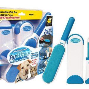 Tüy Toz Temizleyici Fırça Seti 2li Mavi Vakum Ambalajlı Hızlı Kargo
