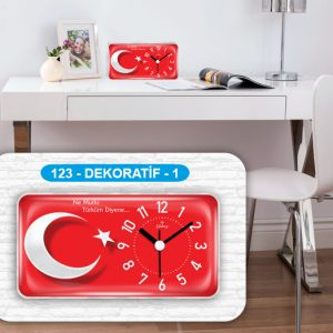 Galaxy 123-1 Bayrak Masa Saati Avrupa Satış