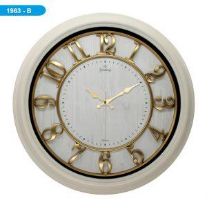 Galaxy 1963-B Premium Kabartma Rakamlı Duvar Saati Western Union Ödeme
