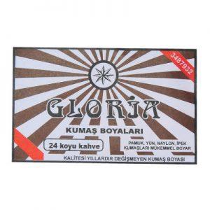 Gloria Kumaş Boyası Koyu Kahve 10Gr Pkt - Kumaş Boyası Çeşitleri