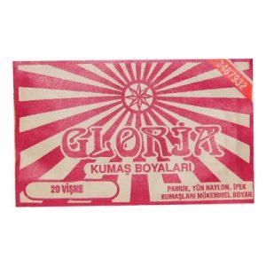 Gloria Kumaş Boyası Vişne 10Gr Pkt - Kumaş Boyası Çeşitleri