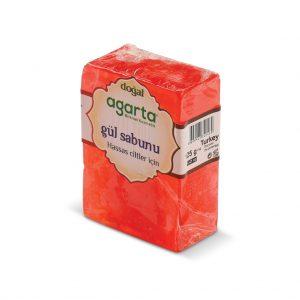 Gül Özlü Agarta El Yapımı %98 Doğal Sabun 150 gr