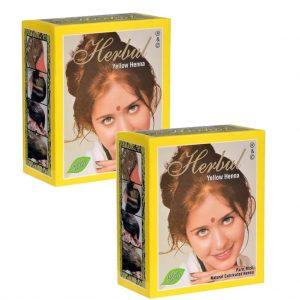 Herbul Hint Kınası Sarı 2 Kutu (12 Adet)