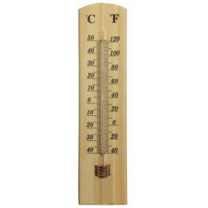Ahşap Termometre Hızlı Gönderim