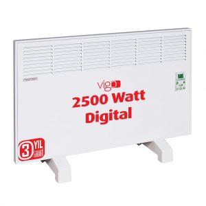 Vigo 2500 Watt Dijital Elektrikli Konvektör Isıtıcı Avrupa Satış
