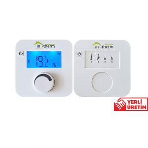 in-therm MRL 200 RF TM Kablosuz Dijital Oda Termostatı İn-Therm Hızlı Gönderim