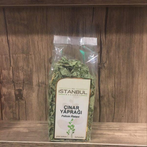 İstanbul Baharat Çınar Yaprağı Bitkisi 30 Gr