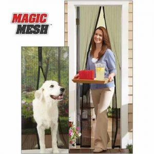 Magic mesh mıknatıslı kapı sinekliği Hızlı Gönderim
