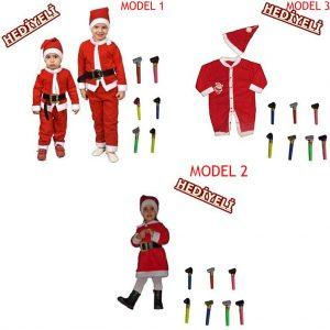 Noel Baba Kostümü Kıyafeti + 1 Adet Kaynana Dili Hediyelidir Hızlı Gönderim