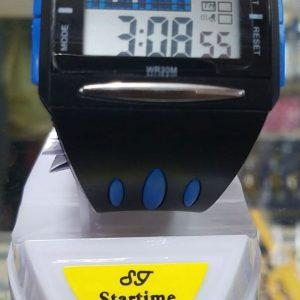 Startime Silikon Dijital Erkek Kol Saati WR30M Mavi Avrupa En Ucuz Fiyat