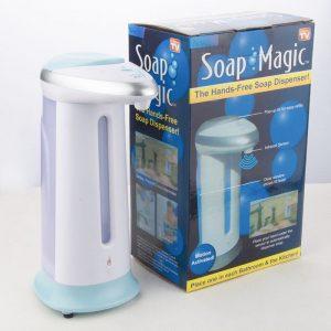Sensörlü Tezgah Üstü Sıvı Sabunluk Money Gram Ödeme