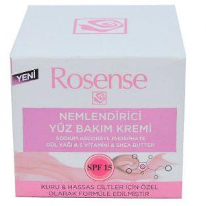 Rosense Nemlendirici Yüz Kremi 50ml - Kuru Hassas Cilt Kremi