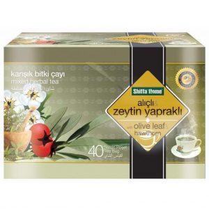 Shiffa Home Zeytin Yapraklı Ve Alıçlı Bitki Çayı 40 Adet