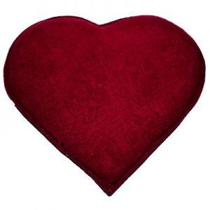 Tuz Yastığı Kalp Desenli Gül Kabartmalı Kırmızı 2.5Kg
