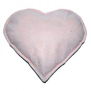 Tuz Yastığı Kalp Desenli Yeşil - Pudra 2.5Kg