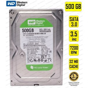 "WD 3.5"" 500GB Sata 7200 RPM 32MB Harddisk Masaüstü Sabit Disk HDD Avrupa En Uygun Fiyat"