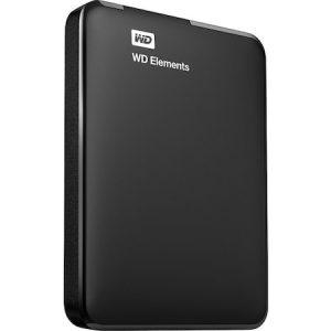 "WD Elements 1TB USB 3.0 2.5"" Taşınabilir Disk WDBUZG0010BBK Uçak Kargo"
