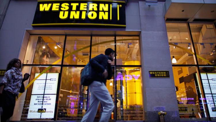 western union para transferi