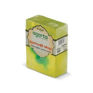 Zeytinyağlı Agarta El Yapımı %98 Doğal Sabun 150 gr