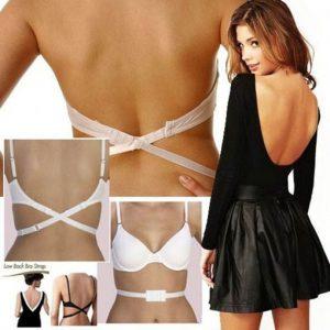 Low Back Bra Strap Sütyen Askısı Straplez Dekolte Elbise Südyen