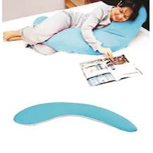 Yarım Boy Hamile ve Uyku Yastığı ( Mavi )