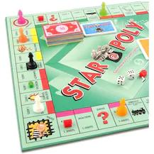 Star Poly Emlak Alım Satım Oyunu Orjinal Kutulu Monopoly Tarzı