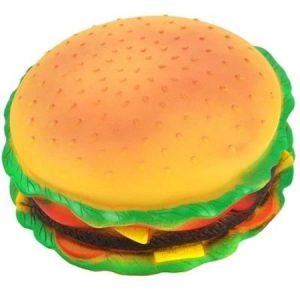 Hamburger Şeklinde Kedi Köpek Oyuncağı