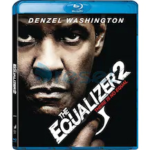 Equalizer 2- Adalet 2 4K Ultra HD+Blu-Ray 2 Disk