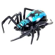 Mavi Örümcek Pilli Titreşimli Şaka Böceği Orjinal Battling Bugs