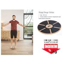 Plates Fitness Spor için Ahşap Denge Tahtası Plates fitnes yoga
