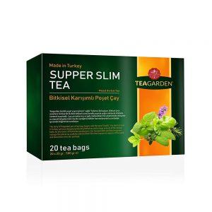 Supper Slim Tea - Bitkisel Karışımlı Poşet Çay 400GR