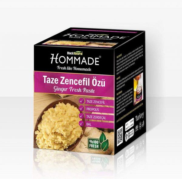 Homemade Taze Zencefil Özü - Kış Macunu