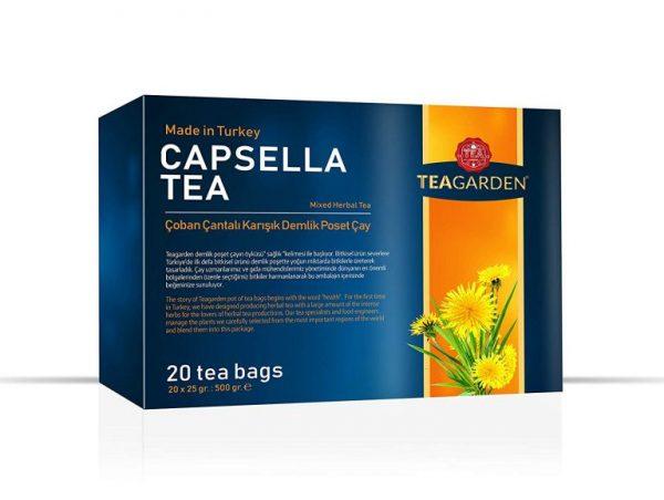 Teagarden Capsella Tea Demlik Poşet Çay 500GR
