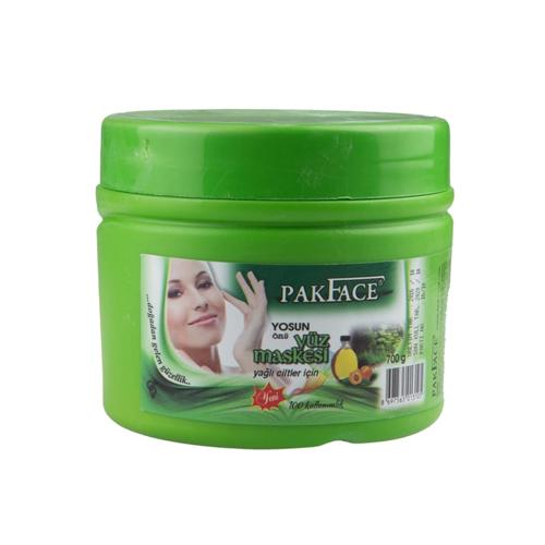 Pakface Yosun Özlü Kil Maskesi 100 Kullanımlık 1 Adet700GR