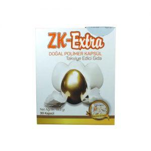 ZK Extra Doğal Polimer Kapsül Takviye Edici Gıda