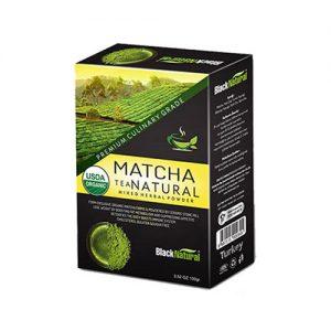 Black Natural Matcha Tea Natural Karışık Bitki Çayı