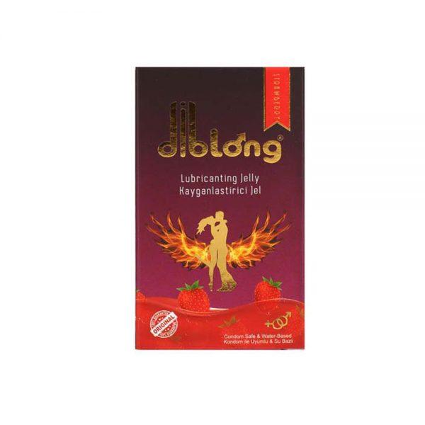 Diblong Lubricating Jelly Çilekli Jel 25 ML