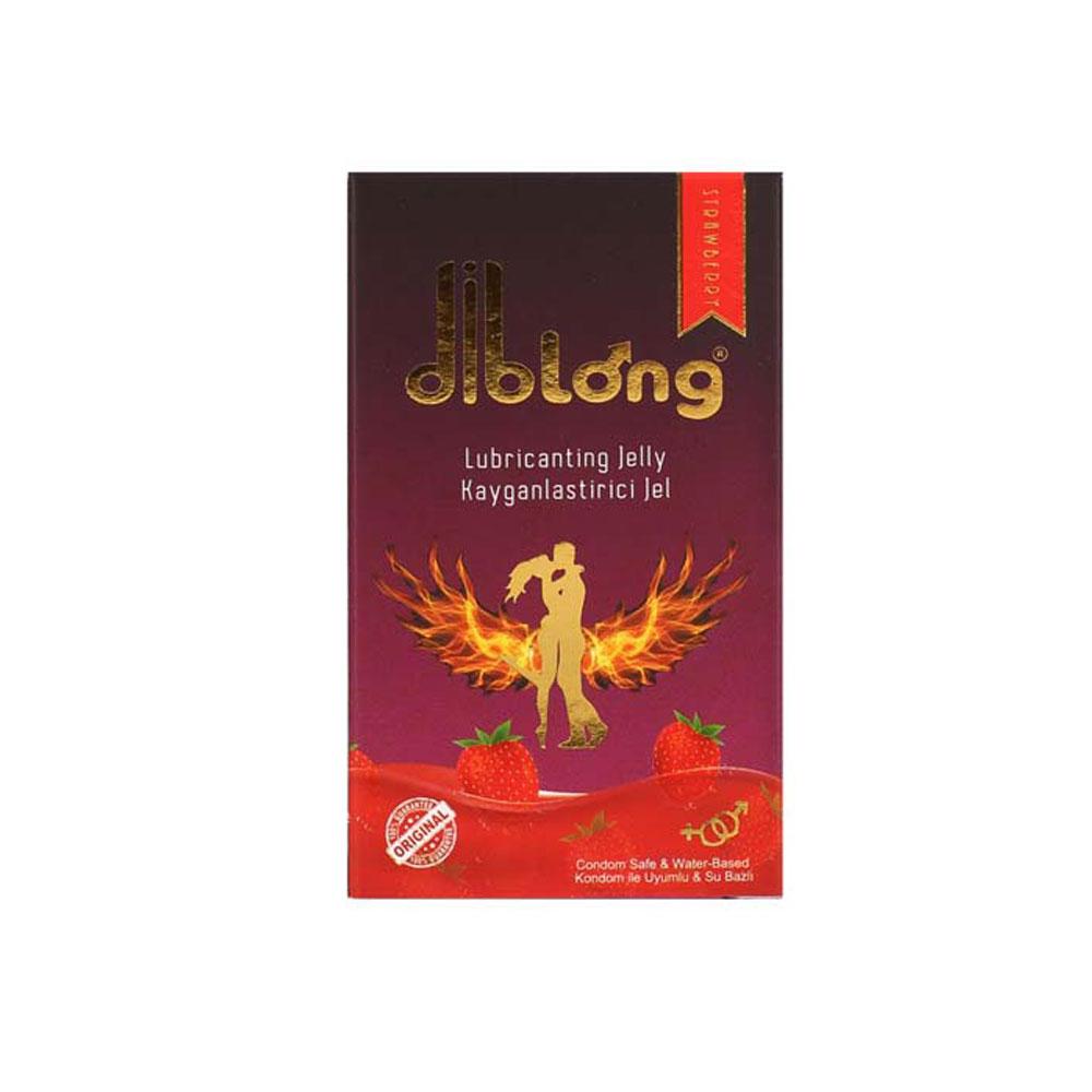 Diblong Lubricating Jelly Çilekli Jel