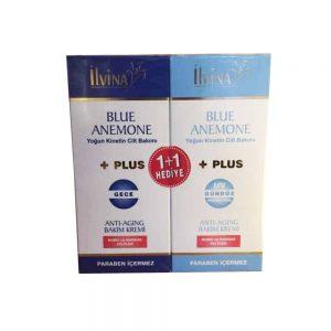 İlvina Blue Anemone Gece ve Gündüz Bakım Kremi 1+1 Hediye