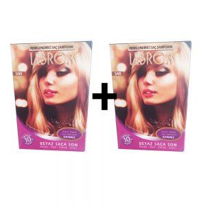 Lebron Renklendirici Saç Şampuanı Sarı 1 Alana +1 Bedava