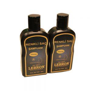 Lebron Renkli Saç Şampuanı Kahve 400 ML