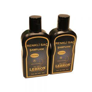Lebron Renkli Saç Şampuanı Kestane 400 ML