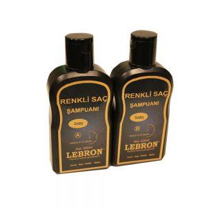 Lebron Renkli Saç Şampuanı Sarı 400 ML