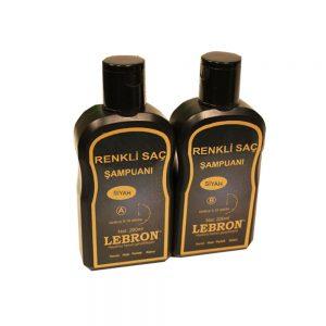 Lebron Renkli Saç Şampuanı Siyah 400 ML
