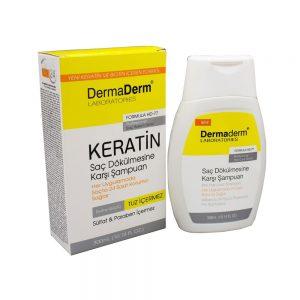 Dermaderm Keratin Özlü Şampuan HD 77 300 ML
